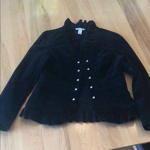White House Black Market Corduroy Jacket
